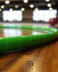 Hula Hop Sportowe Zielona JaskrawaTaśma FLUO
