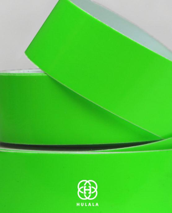 taśma do hula hop fluo green2