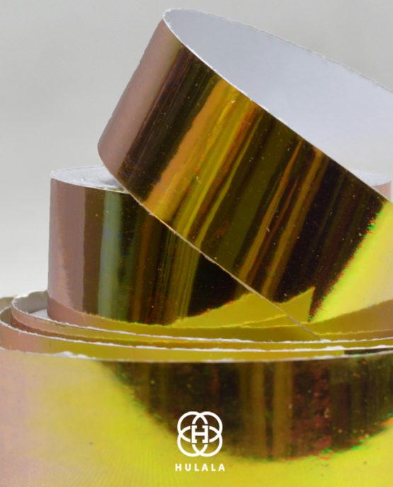 taśma do hula hop mirror złota