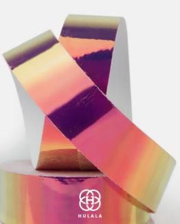 Taśma Laser do oklejanie Hula-Hoop w kolorze Rose. Sklep z Taśmami do hula-hoop Warszawa