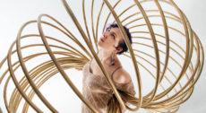 Zajęcia Hula Hoop prowadzone przez Emilię Pieśkiewicz